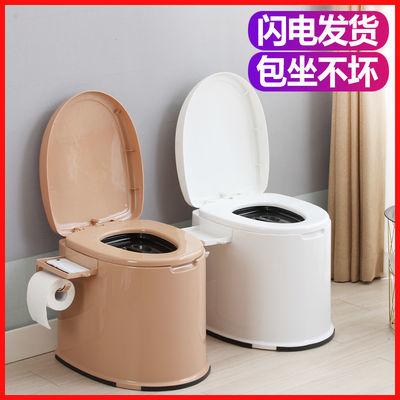 移动马桶老年人孕妇坐便器便携成人坐便椅塑料座便器室内痰盂家用