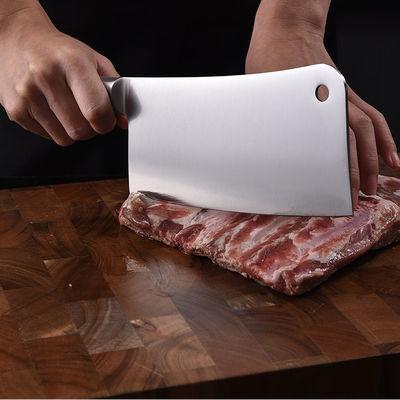 德国工艺锋利持久家用菜刀切肉刀厨师刀切片刀锰钢不锈钢厨房刀具
