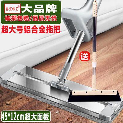 铝合金大号懒人免手洗平板拖把吸水墩布家用瓷砖干湿两用拖地神器