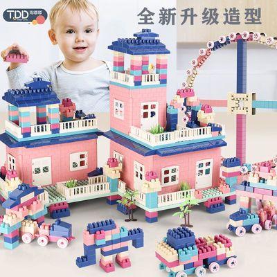 儿童玩具男孩积木拼装益智玩具塑料颗粒拼插拼图宝宝玩具1-3-6岁