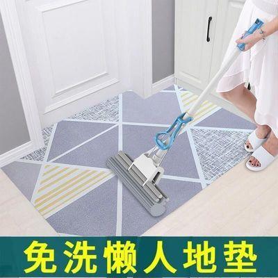 可擦洗进门地垫门垫脚垫客厅卧室入门防水防滑易打理PVC皮革家用