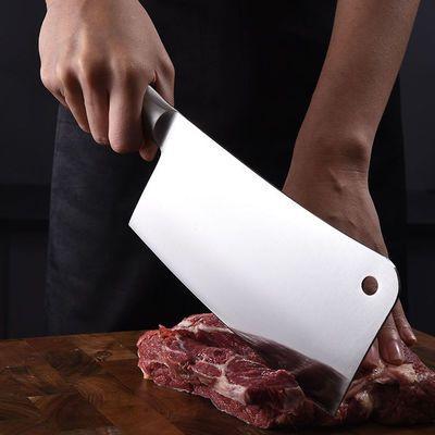 不锈钢家用锋利菜刀切片刀家用斩骨刀家用剁骨刀不锈钢斩刀菜刀具