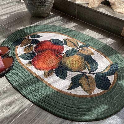 手工编织地垫印花地毯脚垫进门门垫卫生间地垫厨房浴室门口吸水垫