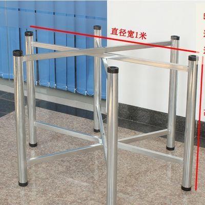 吃饭桌子简易圆桌折叠铁艺桌腿支架餐桌架子桌架桌脚架餐台餐桌脚