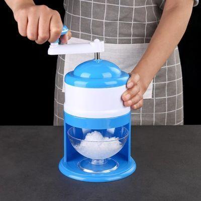 手动刨冰机家用小型迷你碎冰机绵绵冰沙机儿童手摇沙冰打冰破冰机