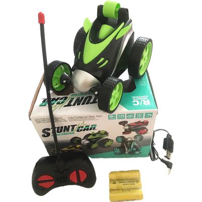 儿童特技翻滚车遥控翻斗车翻转车玩具可充电遥控汽车男女孩礼物品