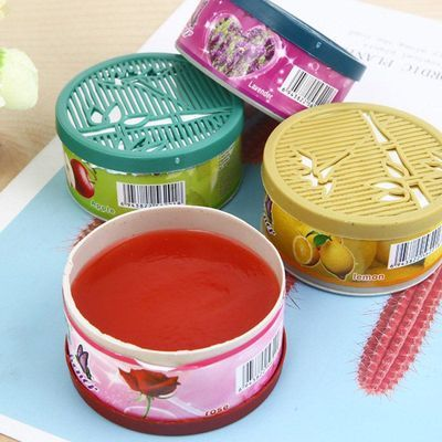 [12-4个]家用香薰厕所卫生间自动除臭芳香剂除异味固体空气清新剂