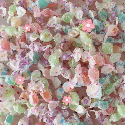 浪漫樱花千纸鹤糖果混合口味水果切片糖喜糖硬糖儿童零食年货批发
