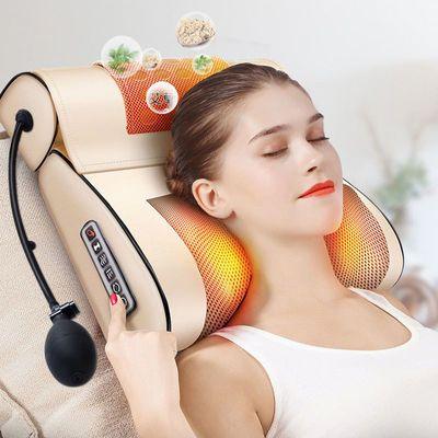 艾灸颈椎按摩器颈部肩部腰部腿部脖子家用多功能枕头小型按摩靠垫