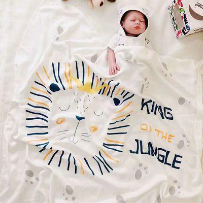纯竹纤维童被儿童冰丝毯婴儿空调被午睡盖毯宝宝小被子新生儿毯子