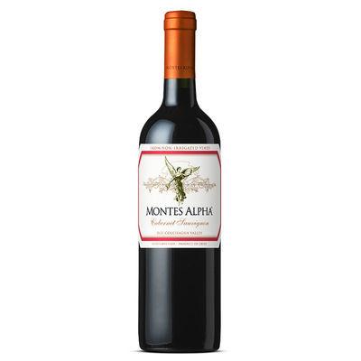 【蒙特斯欧法系列】正品行货蒙特斯智利原瓶进口葡萄酒红酒750ml