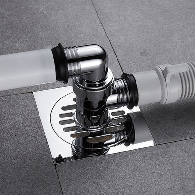 洗衣机排水管地漏盖专用接头下水管下水道三通两用防臭防反水溢水
