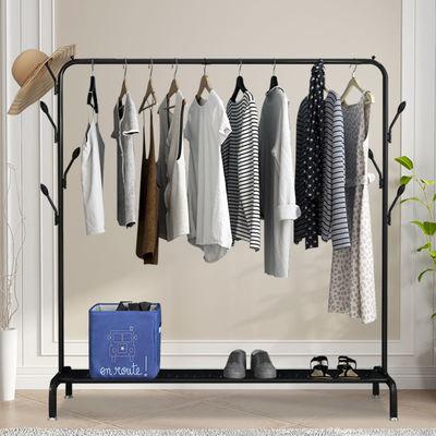 家用晾衣架落地卧室小型凉挂衣架子简易宿舍室内折叠收纳晒衣服杆