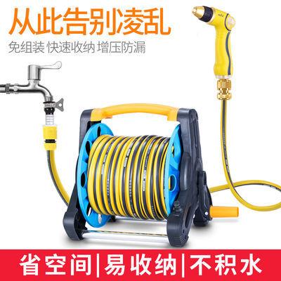 志通高压洗车水枪卷管架套装防爆水管软管浇花洗车神器收纳架工具