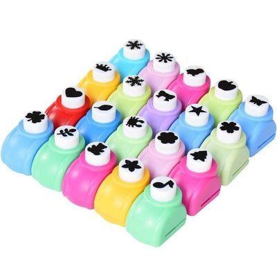 ��镂空儿童花瓣学生打孔手工制作工具印花机压花器打印材料小型心