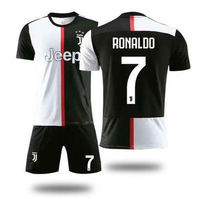 尤文图斯球衣C罗足球服定制19-20主场训练队服足球套装男成人儿童