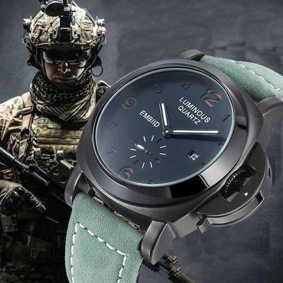 夜光男士手表男黑科技运动风手表特种兵手表军表多功能工业风手表