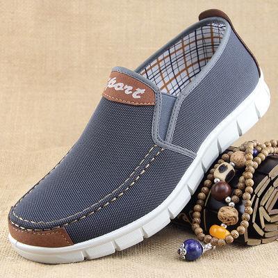 冬季老北京布鞋男棉鞋保暖加绒中老年爸爸鞋防滑软底休闲老人男鞋