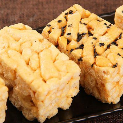 徐福记沙琪玛500g散装糕点蛋酥芝麻味混装抖音儿童零食品批发包邮