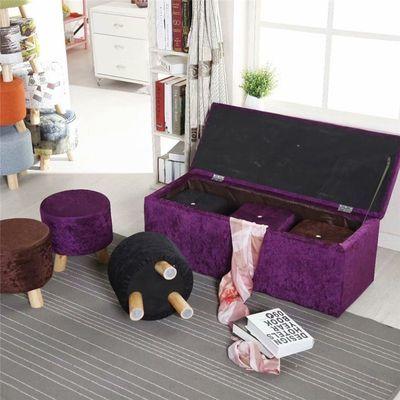 布艺实木欧式沙发凳换鞋凳方凳储物凳试鞋凳收纳凳长凳圆凳床尾凳