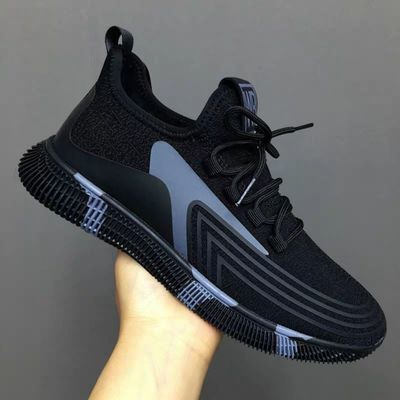 2020新款休闲男鞋韩版夏秋季透气运动跑步鞋网鞋布鞋老爹鞋男潮鞋