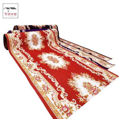 欧式可裁剪门厅地毯地垫卧室满铺酒店宾馆走廊楼梯防滑地毯家用