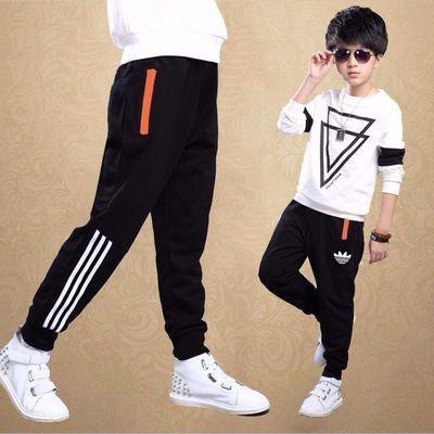 男童秋冬装运动裤2020新款儿童中大童洋气加绒款长裤休闲裤子韩版