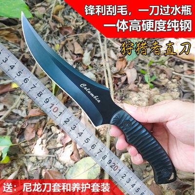 户外刀具直刀防身野外求生刀战术瑞士军工刀小直刀锋利水果刀小刀