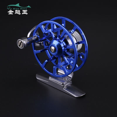 【金飚王】【全金属】渔线轮渔轮带泄力超轻前打轮矶竿冰钓轮冬钓