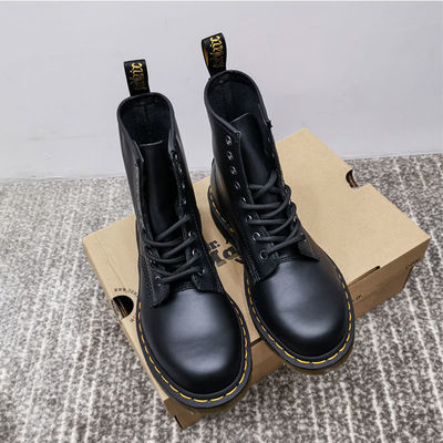 马丁靴女夏季薄款英伦风2020透气百搭真皮内增高机车短靴春秋单靴