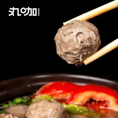 丸咖牛肉丸牛筋丸正宗潮汕手工火锅丸子关东煮麻辣烫烧烤食材批发