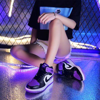 aj1女鞋樱木花道芝加哥乔1板鞋联名空军一号夏季运动高帮休闲男鞋