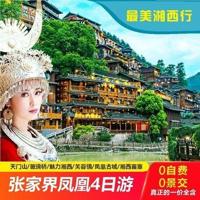 湖南张家界旅游国家森林公园百龙天梯天门山3日游