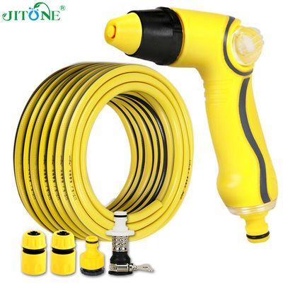 志通高压洗车水卷管架套装防爆水管软管浇花洗车神器收纳架工具包