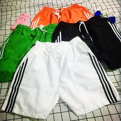 短裤子夏季男生嘻哈四分潮流原宿风沙滩宽松休闲黑色三分运动裤子