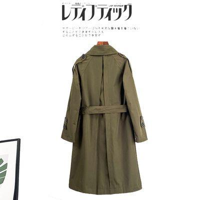 中长款女士风衣春秋薄款外套2020秋季新款韩版气质显瘦英伦风大衣