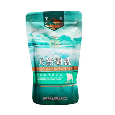 青海茶卡盐天然湖盐精制湖盐凉拌煎炒食用天然盐