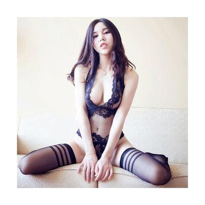 透视情趣内衣女连体制服诱惑激情挑逗用品丝袜套装小胸性感衣服骚
