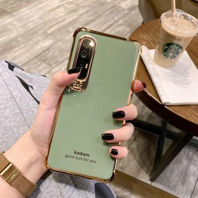 OPPOreno3手机壳男女新款全包防摔硅胶reno3pro网红超薄元气软壳
