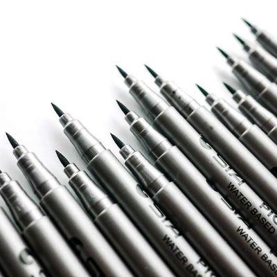 斯塔软毛笔软头秀丽笔大楷笔签到笔勾勒笔绘画设计笔文具