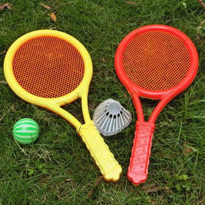 宝宝儿童羽毛球拍玩具塑料男女孩子网球拍玩具幼儿园运动公园地摊