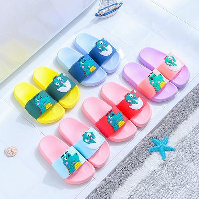 儿童凉拖鞋夏男童可爱幼儿夏季浴室内女宝宝拖鞋中小童亲子家居鞋