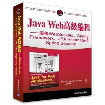 JavaWeb高级编程——涵盖WebSockets..java编程教程 程序设计书籍