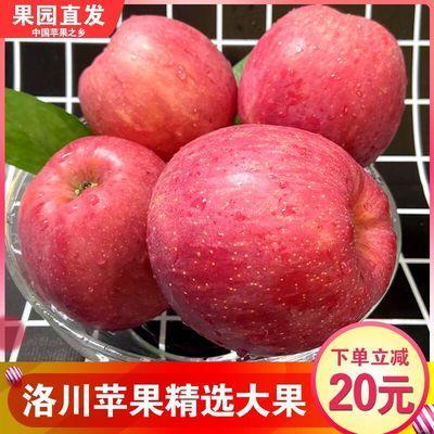 新鲜洛川苹果水果陕西红富士应季脆甜精选大果送礼首选果径85mm