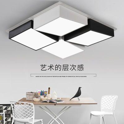 卧室灯吸顶灯led灯具温馨房间灯简约现代北欧宜家个性创意灯饰结