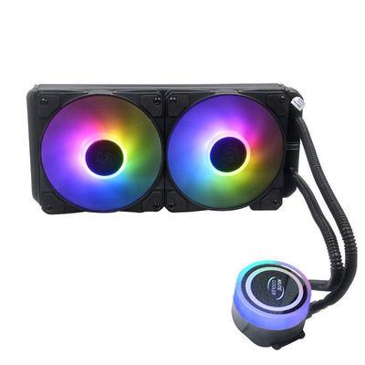 cpu散热器120/240/360水冷散热器一体式套装静音风扇台式机电脑