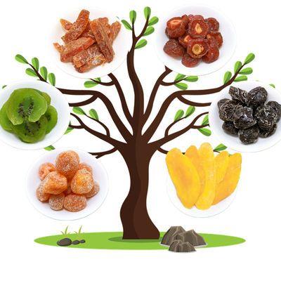 10味蜜饯话梅水果干组合蓝莓乌梅西梅酸梅果脯散装零食干果大礼包