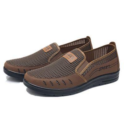 冬季老北京布鞋男士棉鞋保暖加绒加厚中老年爸爸鞋防滑软底老人鞋