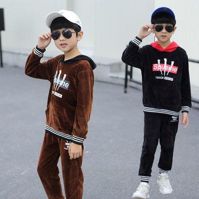 童装男童套装2020春秋季新款儿童秋冬两件套韩版运动洋气男孩潮