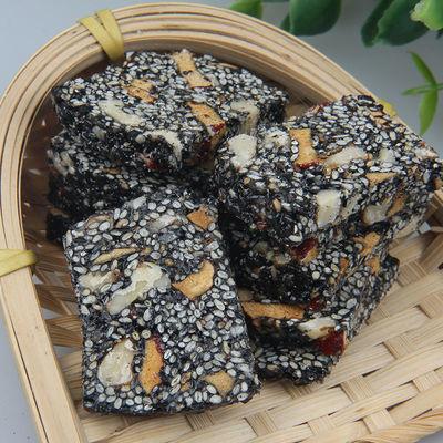 【特价】核桃仁红枣枸杞黑芝麻酥脆营养孕妇零食黑芝麻片老人软糕